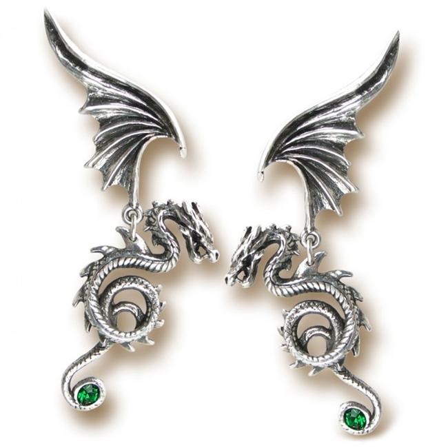 dragon boucle d'oreille