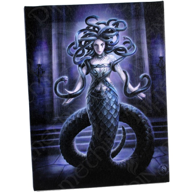Anne stokes toile sur chassis serpent spell - Toile sur chassis ...