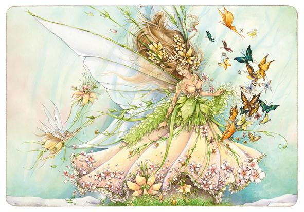 """Résultat de recherche d'images pour """"fée printemps"""""""