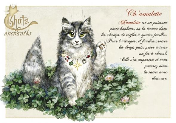 Image du jour / et belles images . Carte_severine_pineaux_chats_enchantes_cpk033_prd