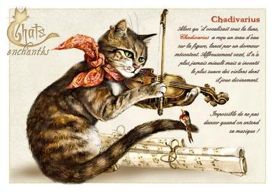 Image du jour / et belles images . Carte_severine_pineaux_octobre_-_chat_chadivarius_-_cpk028_prd