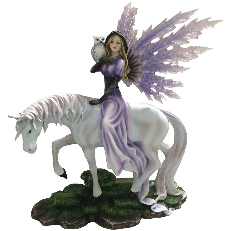 Figurine de f e avec licorne - Jeux de licorne gratuit ...