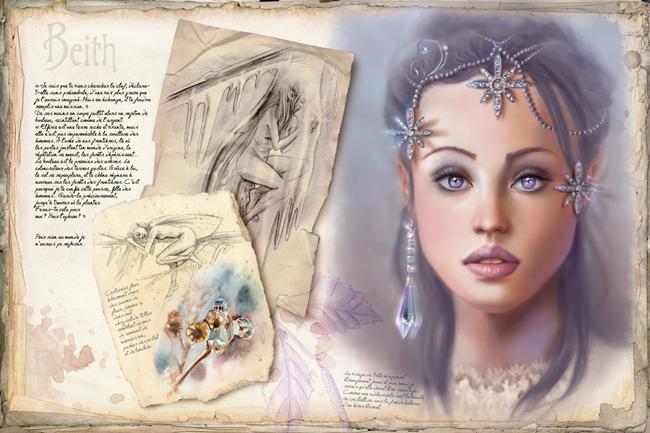 Oghams le temps des elfes ( tome 1)/ Les portes d'or (tome 2) Krystal Camprubi  Livre_krystal_camprubi_-_oghams,_le_temps_des_elfes_b