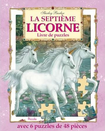 Livre De Puzzles La Septieme Licorne