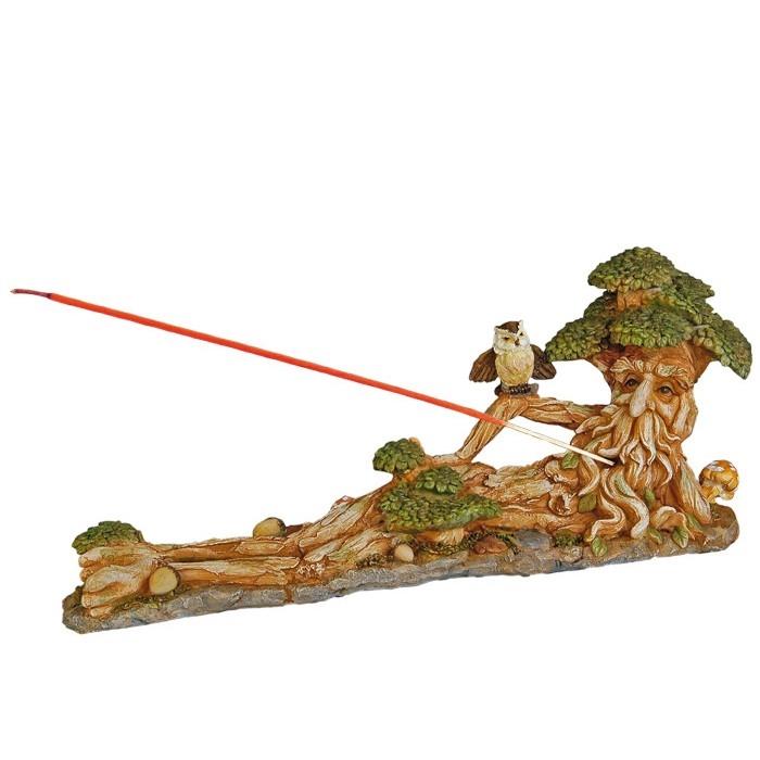 Porte encens homme arbre for Porte encens