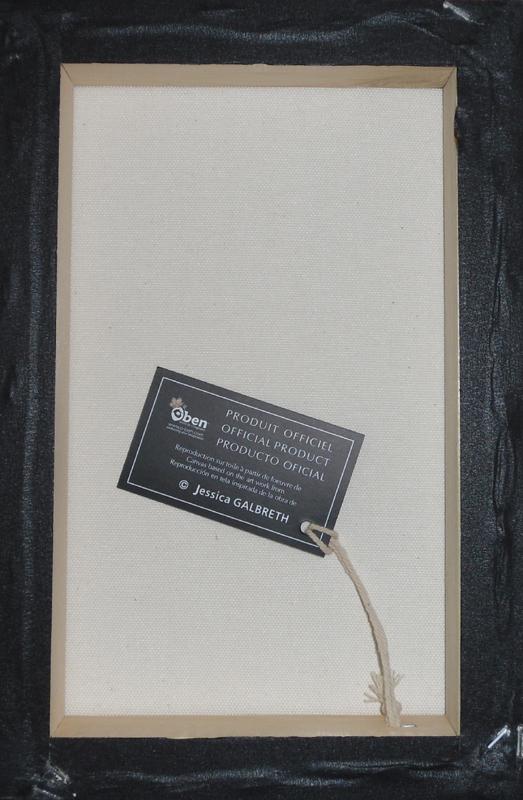 reproduction sur toile f e vintage rose de jessica galbreth. Black Bedroom Furniture Sets. Home Design Ideas